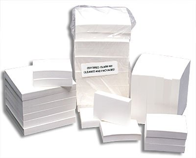 3'' X 3'' Cleanroom Sticky Notes - 100 Sheets - 1 Case of 12 Pads by PLX Industries