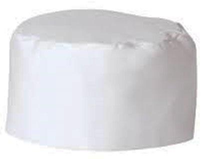 White Chef Hat - Elastic Back