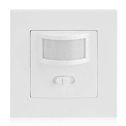 Garosa Motion Sensor Switch AC 110V-240V PIR Passive Infrare