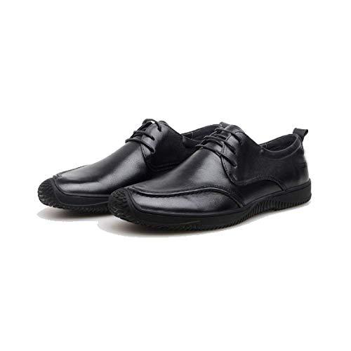 Testa Estate Shoes Casual in Comfort A Pelle Uomo da Driving E Ginnastica Black Trend Scarpe da Scarpe Tonda Primavera q704wa