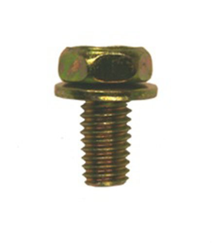 50 M6-1.0 X 12mm Hex Head Sems Body Bolts Clipsandfasteners Inc (Body Bolt Washer Head)