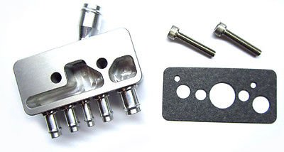 - The Parts Place Turbo Trans Am Aluminum Vacuum Block With Gasket And Screws
