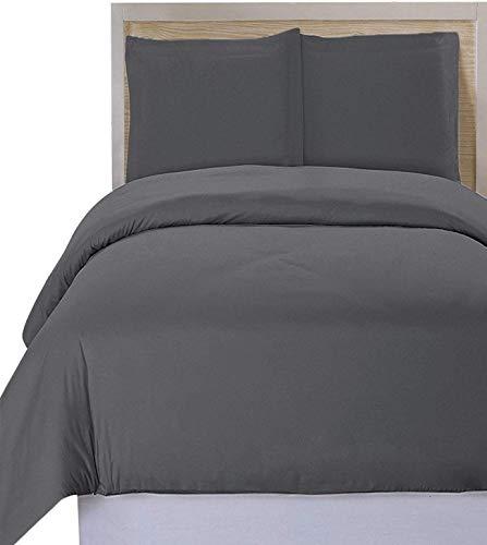 Utopia Bedding Premium Cotton 3 Piece Duvet Cover Set  –