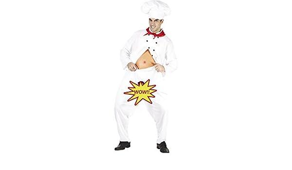 DISONIL Disfraz Cocinero Hombre Talla L: Amazon.es: Juguetes y juegos