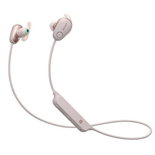 Sony WI-SP600N Wireless In-Ear Noise Canceling Headphones, Pink (WISP600N/P)