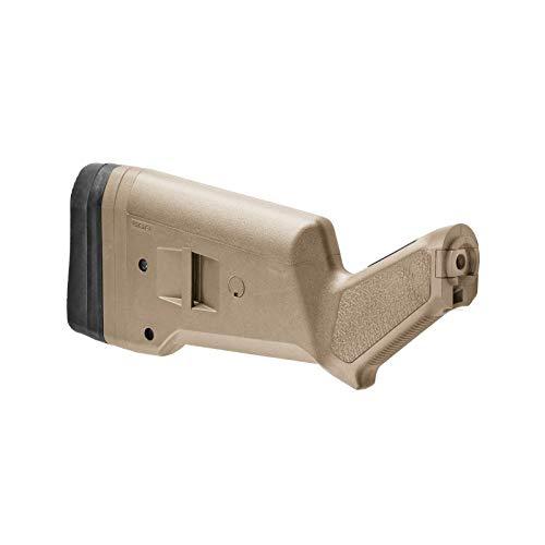 Magpul SGA Ambidextrous Butt Stock Mossberg 500/590/590A1 Shotgun, Flat Dark -