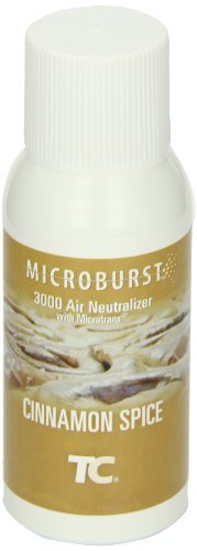 Fragrant Spice - Rubbermaid Commercial Refill for Microburst 3000 Automatic Odor Control System, Cinnamon Spice, FG401689