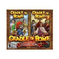 Brand New Cradle Of Rome Collection 1 & 2 (Works With: WIN 2000,XP,VISTA,WIN 7)