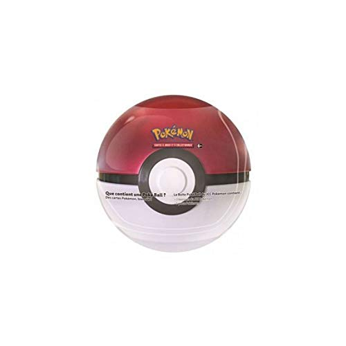 Pokemon POKBAL2018 Ball Box (3 Boosters + 1 Token) Trading Cards