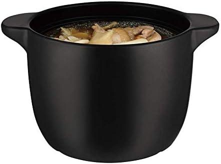 ZJZ Pot en céramique Casserole Pot Pot de ragoût en Terre Cuite Casserole en céramique résistance à Hautes températures, Mise à Niveau délicieuse, 6L