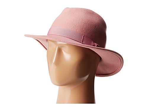 Pink Hat Fedora (San Diego Hat Company Women's WFH8039 Felt Fedora Hat Pink Hat)