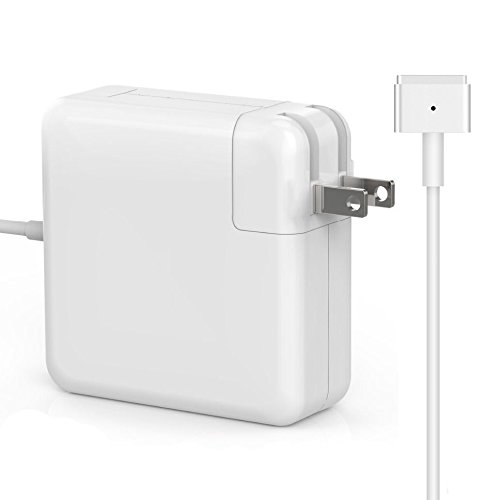 MOFANG FAMILY Macbook Air Charger, Replacement 45W Magsafe 2 T-tip Power Adapter for Apple Macbook Air 11 inch and 13-inch