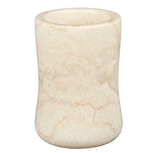 Creative Home 74176 Marble Bath Tumbler