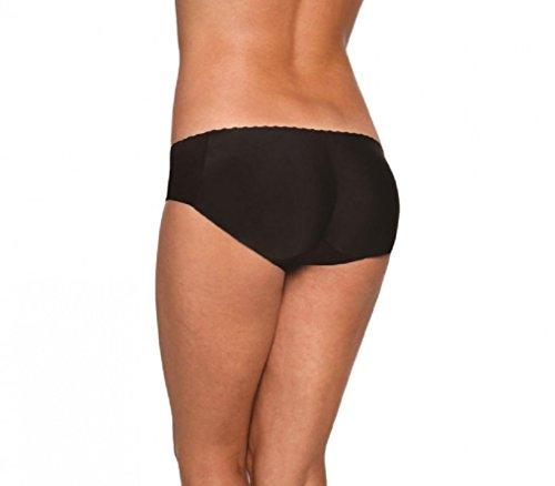 Due Imbottite Glutei Culotte Nero Donna Fair Slip Intimo Per up Modellante Push Mutandine Colori cSWPBFA4