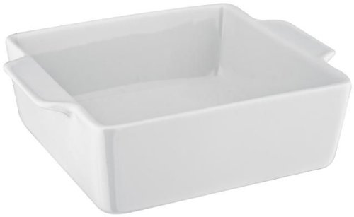 Judge Square Baker, White, 20 x 6 cm JFY075
