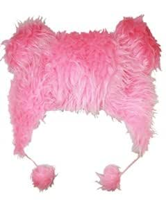 Outer Rebel Fashion Animal Hats- Fuzzy Pink Ears