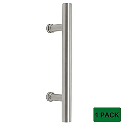 Probrico Barn Handle 304 Stainless Steel Wood Sliding Door Pull Rust Resistant Door Hardware