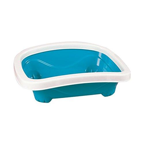 Bandeja higiénica para gatos Nobleza, color azul largo 41 cm