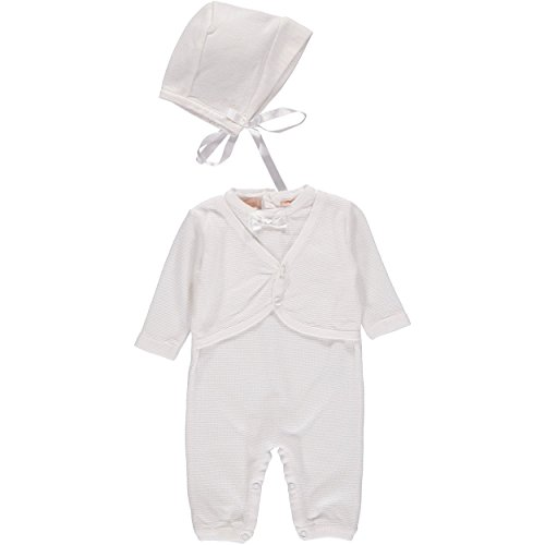 Christening Outfit attached Matching Bonnet product image