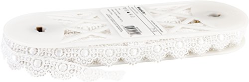 Wrights 1862036030J Scalloped Edge Venice Lace, 1