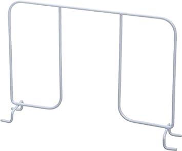 Organized Living FreedomRail Shelf Divider For FreedomRail Ventilated  Shelves, 12 Inch   White