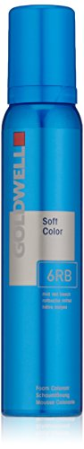 Mousse Color Colorance Goldwell - Goldwell Colorance Soft Color Foam, 6rb Red Beech, 4.2 Ounce