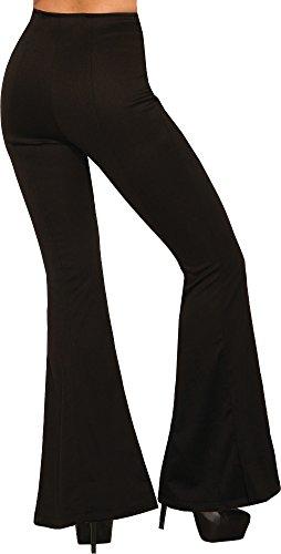 Forum Novelties Women's Standard Disco High Waisted Pants, As As Shown, 12 x 12 x 8