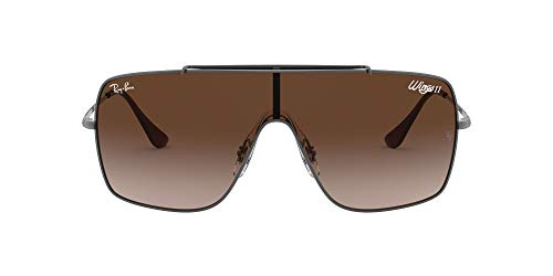 Logo Metal Shield Sunglasses - 1