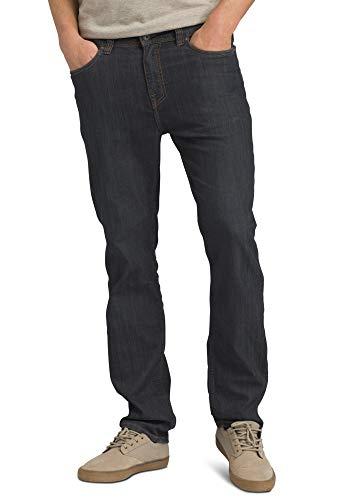 prAna - Men's Bridger Lightweight, Tapered, Durable, Stretch, Slim-Fit Jeans, 30 Inseam, Denim, 32