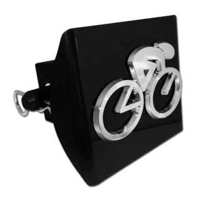 Elektroplate Cycling Plastic Black Hitch Cover: Automotive