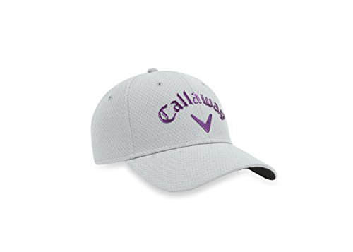 Callaway 2017  Women's Liquid Metal Hat, Silver/Purple, One - Golf Callaway Hats For Women