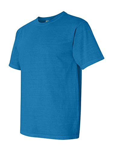 (Comfort Colors 1717 Pigment-Dyed Short Sleeve Shirt (Royal Caribe, XXX-Large))