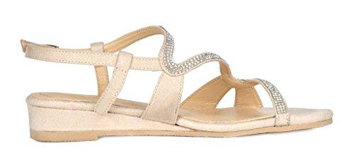 PAIRS DREAM Wedge Sandal nude 1 Formosa 1 Women's ZdPwvdq