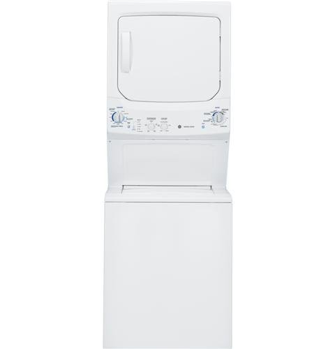 GE GTUP270EMWW Spacemaker 9.2 Cu. Ft. White Electric Washer/Dryer Combo