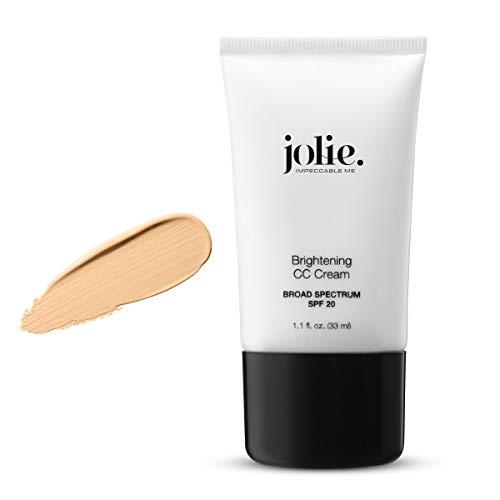 Jolie Self-Adjusting Brightening Color Correcting CC Cream SPF 20 Oil Free (Medium)