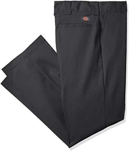 - Dickies Men's Flex Slim Fit Tapered Leg Work Pants, Charcoal, 38 34