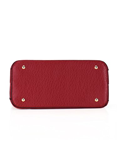 Sourcingmap, Borsa a tracolla donna M Red