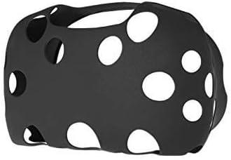 Funda HTC Vive VR Headset Protector Segunda Piel Goma Cover Gafas Realidad Virtual Protecci/ón de Silicona Multicolor Hyperkin Rojo