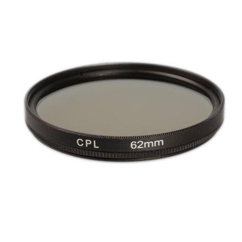 Ares Foto CPL Polfilter für 62 mm Filtergewinde Polarisationsfilter Filter für Tamron AF 18-270mm F/3.5 -6.3 Di II VC PZD