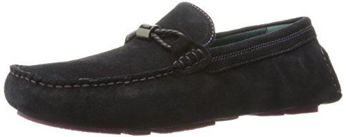 Ted Baker Mens Carlsun 2 Mocassino Slip-on Blu Scuro