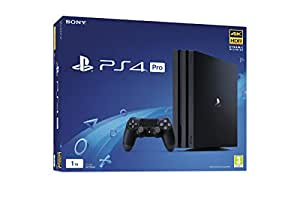 Sony PlayStation 4 Pro 1TB Console with 1 Dual Shock4 Wireless Controller - Black