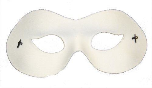 RedSkyTrader Mens Basic Bandit Venetian Costume Mask One Size Fits Most -