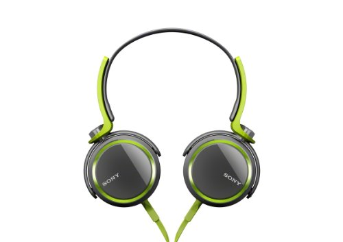 Sony MDRXB400/GRN Extra Bass Over The Head 30mm Driver Headphone Green