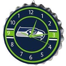 Seattle Seahawks Bottlecap Clock by FOCO