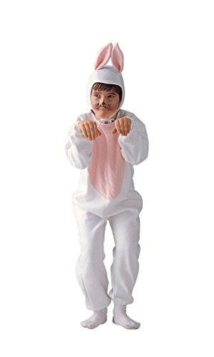 Child Medium 8-10 for 6-8 Yrs - Economy Bunny Costume (Ears do NOT Stand up as Pictured. Socks and f