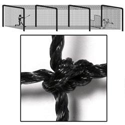 BSN Sports Varsity Batting Tunnel Net (70 ft. L x 14 ft. W x 12 ft. (Best Batting Tunnels)