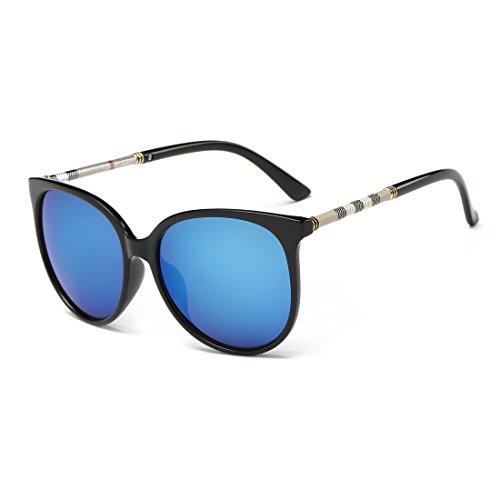 Fashion Wayfarer w/ Flash Mirror Lenses Sunglasses for Men and Women Arctic - Sunglasses Wayfarer Colourful
