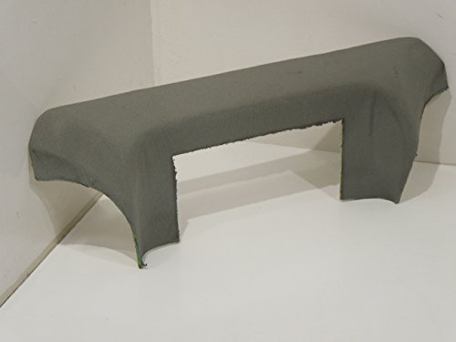 Audi A8 D3 Platinum Grey Rear Centre Seat Parcel Shelf Filler Trim:
