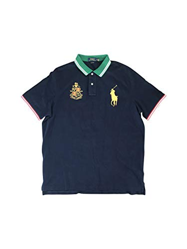 Polo Ralph Lauren Men's Classic-Fit Flag Crest Big Pony Polo Shirt
