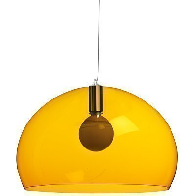 Kartell Fly Ceiling Suspension Light Transparent Yellow by Kartell [並行輸入品]
